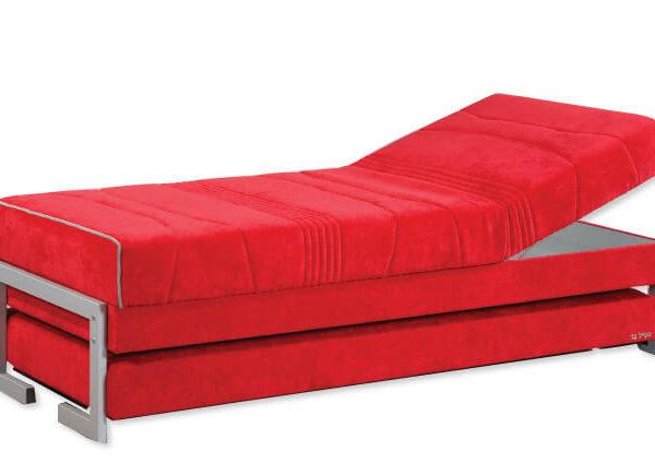 מיטת נוער דגם דאון סטייל בד
