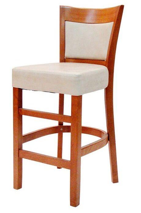 כיסא בר מעץ דגם אשל