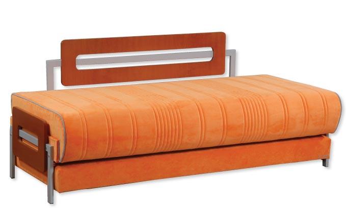 מיטת נוער דגם גייט סטייל בד
