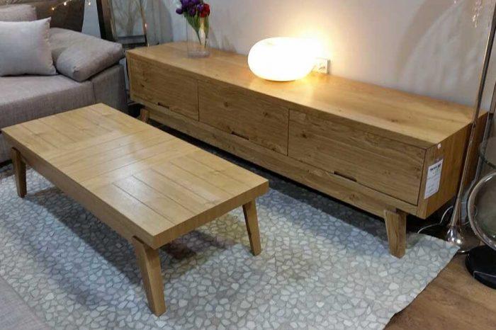 מזנון ושולחן לסלון דגם מוסקט