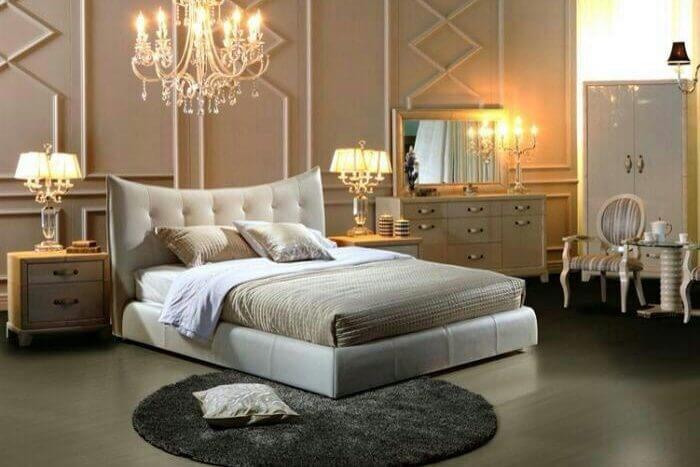 מיטה מרופדת דגם מירב