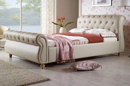 מיטה מרופדת דגם נסיכה