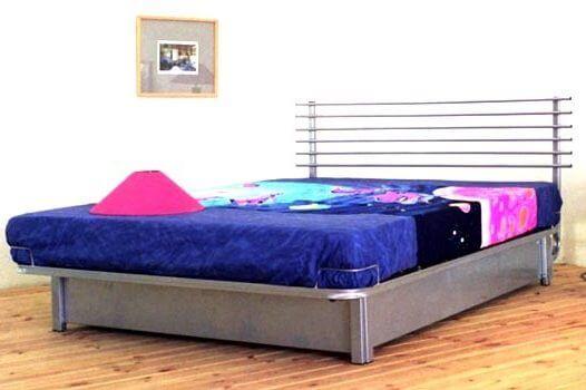 מיטת מתכת דגם B306+ארגז מצעים