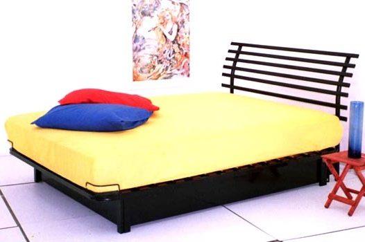 מיטת מתכת דגם B308+ארגז מצעים