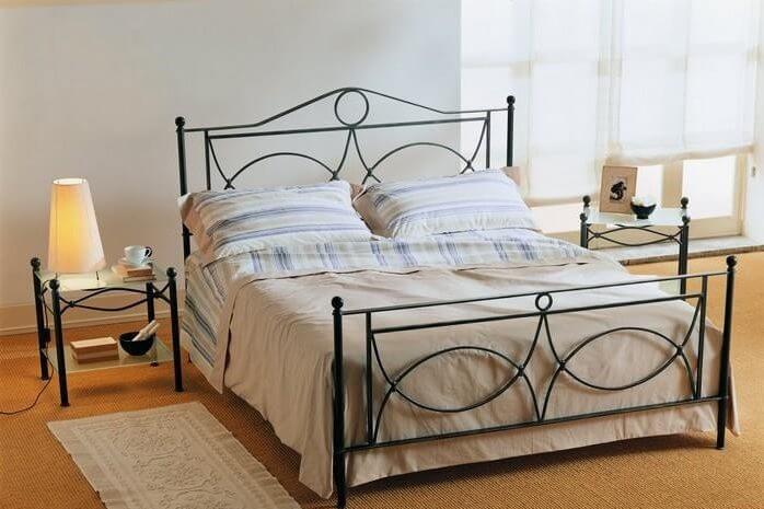 מיטת מתכת דגם L333