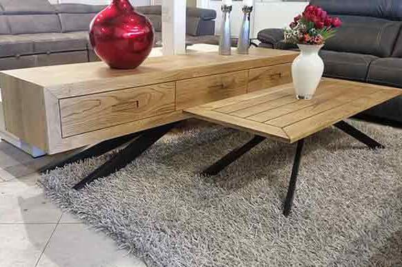 מזנון ושולחן לסלון דגם ספיידר