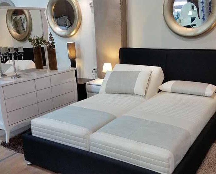 מיטה מרופדת דגם ורונה