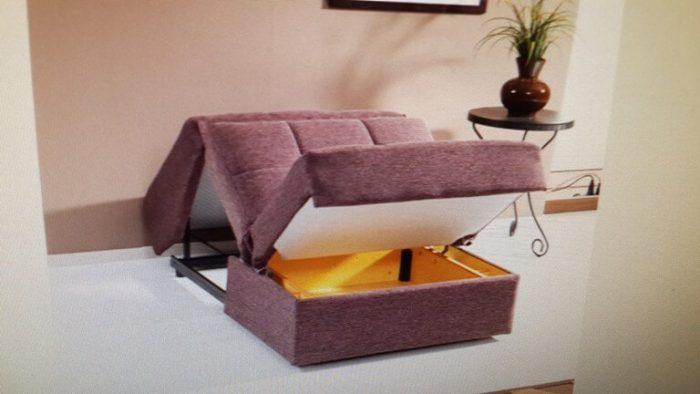 כורסא נפתחת למיטה דגם ונציה בודד