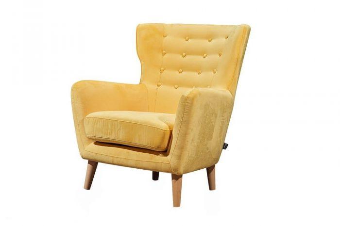 כורסא מעוצבת ריפוד בד קטיפה איכותי דגם דגם 458RB