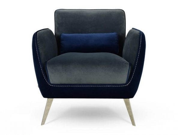 כורסא מעוצבת ריפוד בד קטיפה איכותי דגם 1063RB
