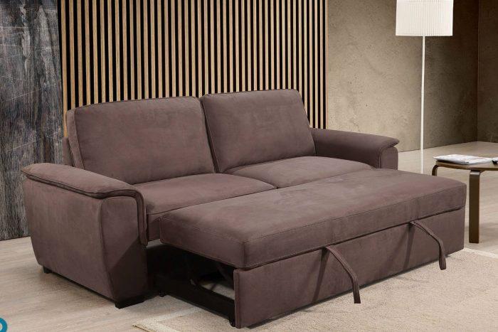מערכת ישיבה ספה בשילוב מיטה נפתחת דגם נדיה rb
