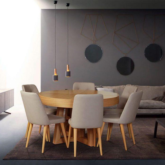 שולחן אוכל דגם אלפא – vn