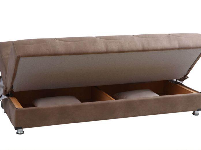 ספה נפתחת למיטה אורטופדית בד איכותי דגם סטלה vn