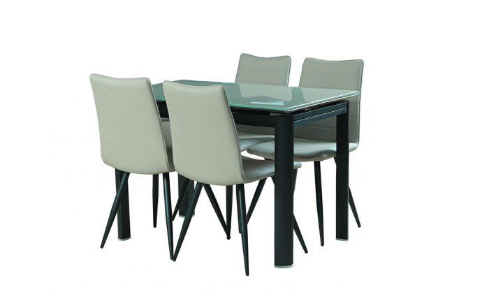 שולחן אוכל מלבן דגם vn L65