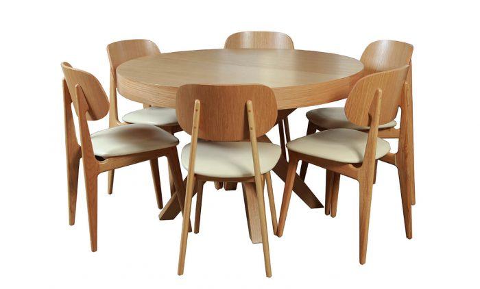 שולחן פינת אוכל דגם לוגנו vn