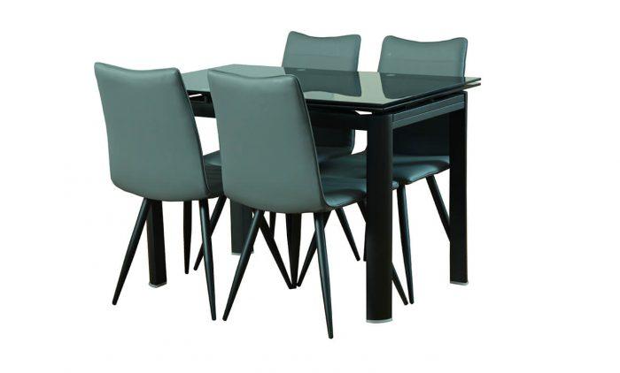 שולחן אוכל עגול דגם L71- vn