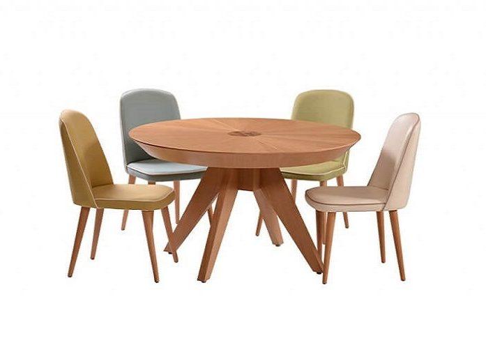 שולחן פינת אוכל דגם ארנה אלון טבעי – vs