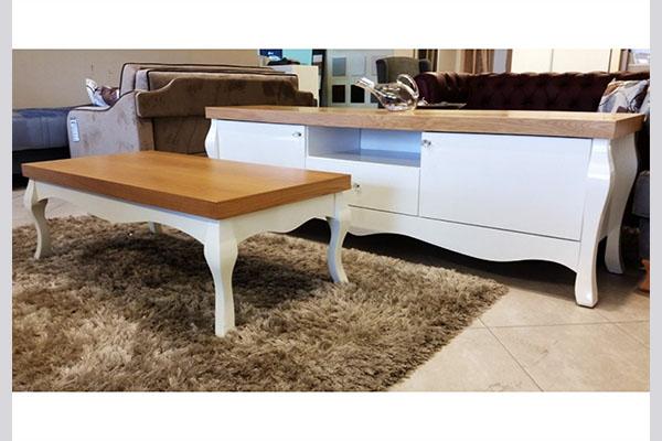 מזנון ושולחן לסלון דגם לואי