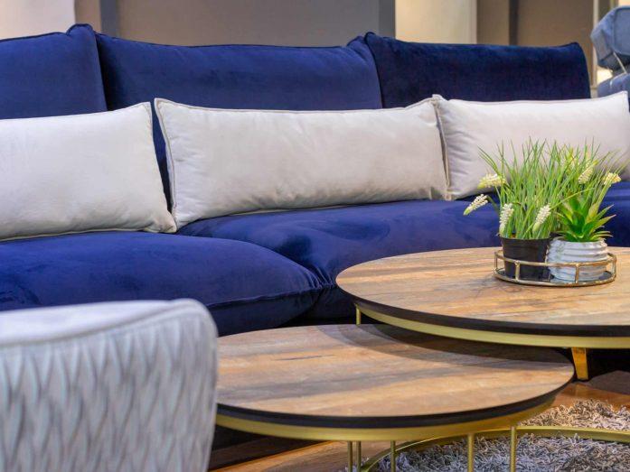 """ספה פינתית מעוצבת דגם """"אריסון"""" – 3990 מתצוגה"""