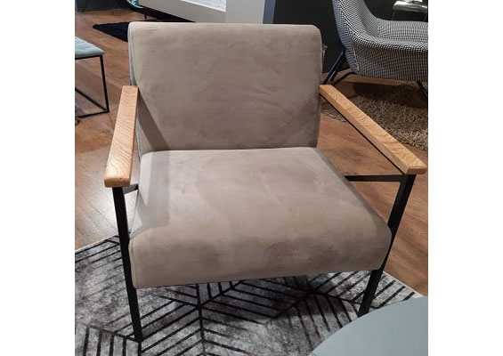 כורסא מעוצבת דגם וינטג'