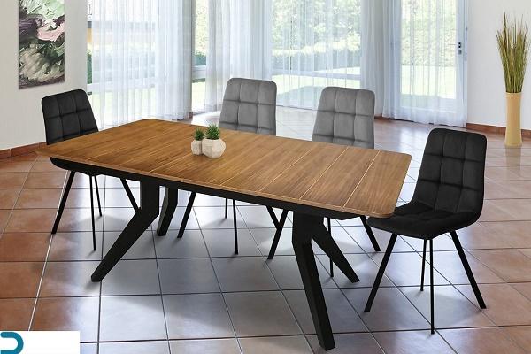 שולחן פינת אוכל דגם סקירה RB 17504011  כסאות + 6 כסאות