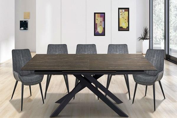 שולחן פינת אוכל דגם קנגו חום