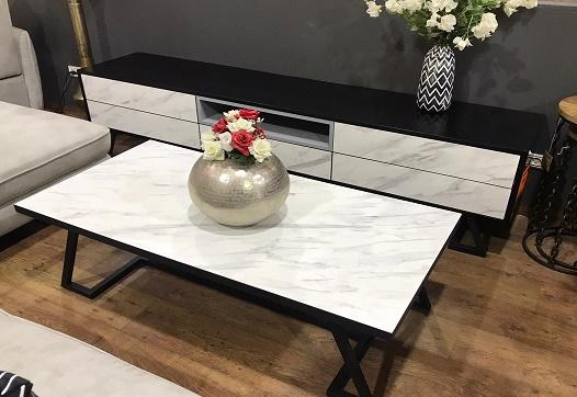 מזנון + שולחן דגם דלאס