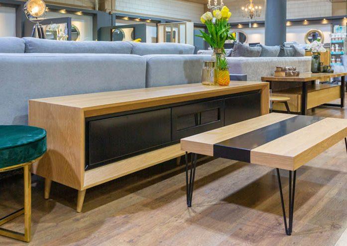 מזנון לסלון הבית בעיצוב טבעי ומודרני