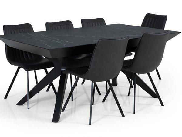 שולחן אוכל דגם סנטיאגו VS