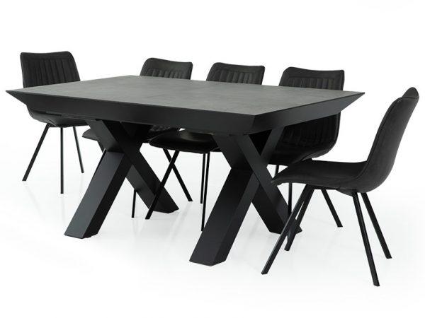 שולחן אוכל דגם מנדרין VS
